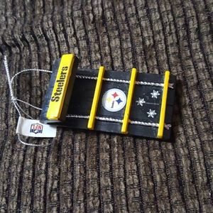 Steelers Christmas ornaments  #Feb47